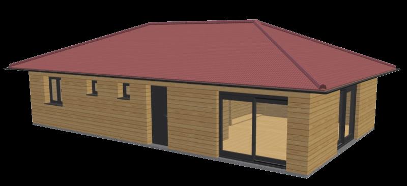 Maison en bois 84 stmb construction