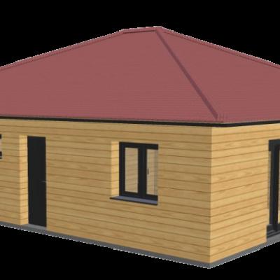 Maison en bois 86 stmb construction