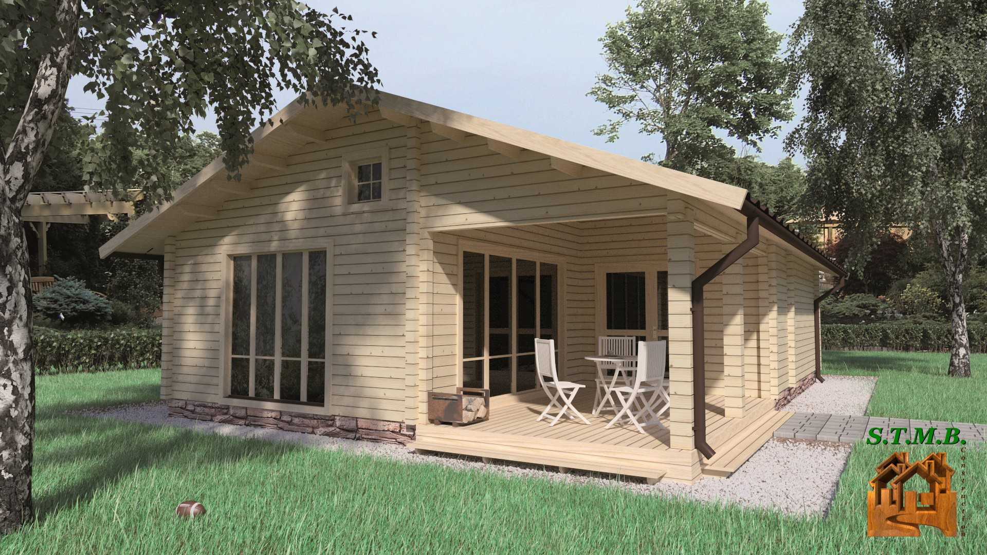cottage en kit 70m2 zion star