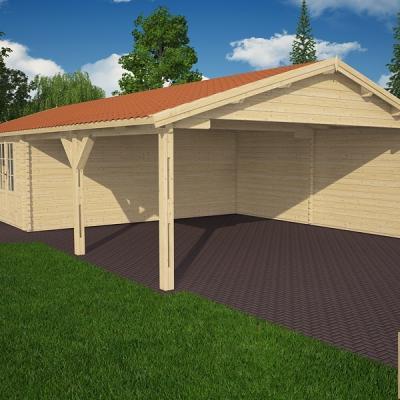 Garage for Garage kit bois