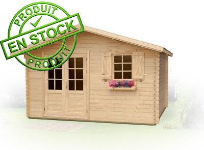 Abris de jardin et chalets en bois en stock dans nos entrepots for Aide jardin conseil
