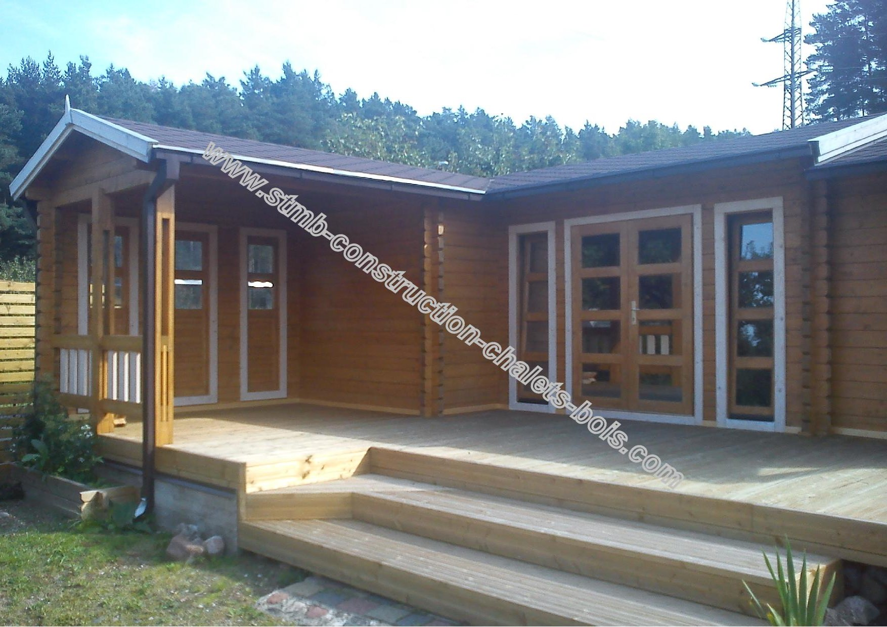 Ph2 hd chalet bois habitable chene stmb construction