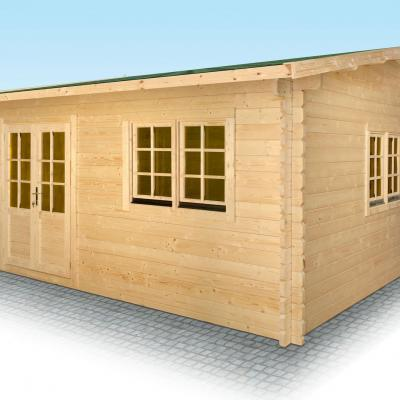 Vente de chalet bois en kit stmb construction chalets bois for Construction bois 22