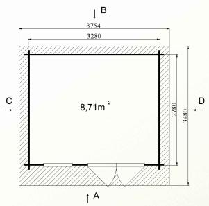 cabanon de jardin par cher stmb construction chalets. Black Bedroom Furniture Sets. Home Design Ideas