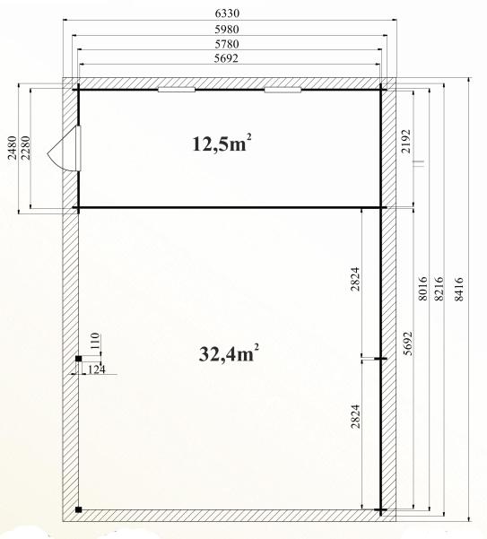 Ph6 kit abri voiture bois atelier grenadier 49m 44mm