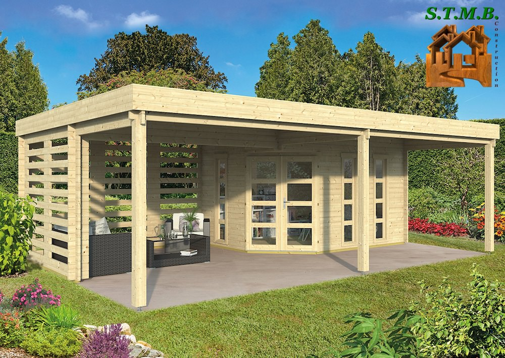 Cabane de jardin terrasse et balcon for Cabane de jardin que choisir