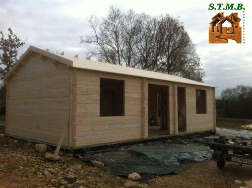 Photo 1 chalet en bois habitable limoges stmb construction
