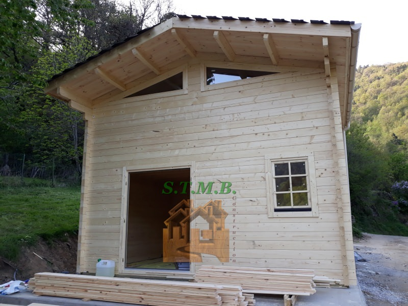 Photo 1 chalet en bois mezzanine laurier 20 msb