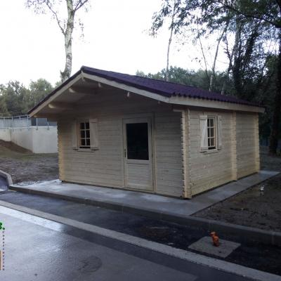 Photo 1 chalet en bois noisy 24 m2 stmb construction
