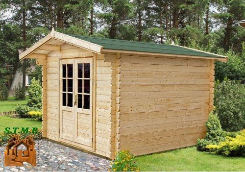 Chalet de jardin en bois chalet jardin 34 mm for Chalet de jardin solde