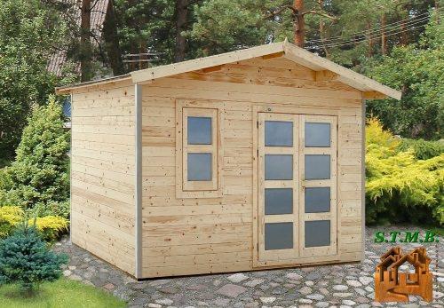 Photo 1 hd prod abri jardin kit tilleul 8m2 stmb