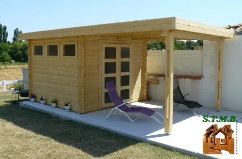 petits abris de jardin bois en kit stmb. Black Bedroom Furniture Sets. Home Design Ideas