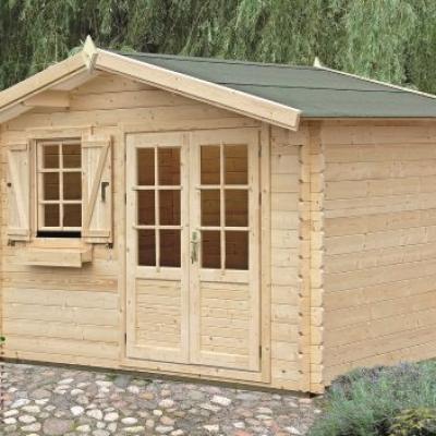 Photo 1 kit abri bois de jardin cedre 10 50m stmb