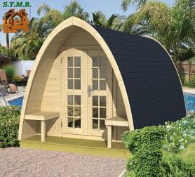 Photo 1 pod en bois camping stmb construction