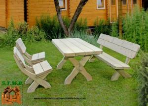 Photo 1 salon bois jardin kit avre stmb construction 1