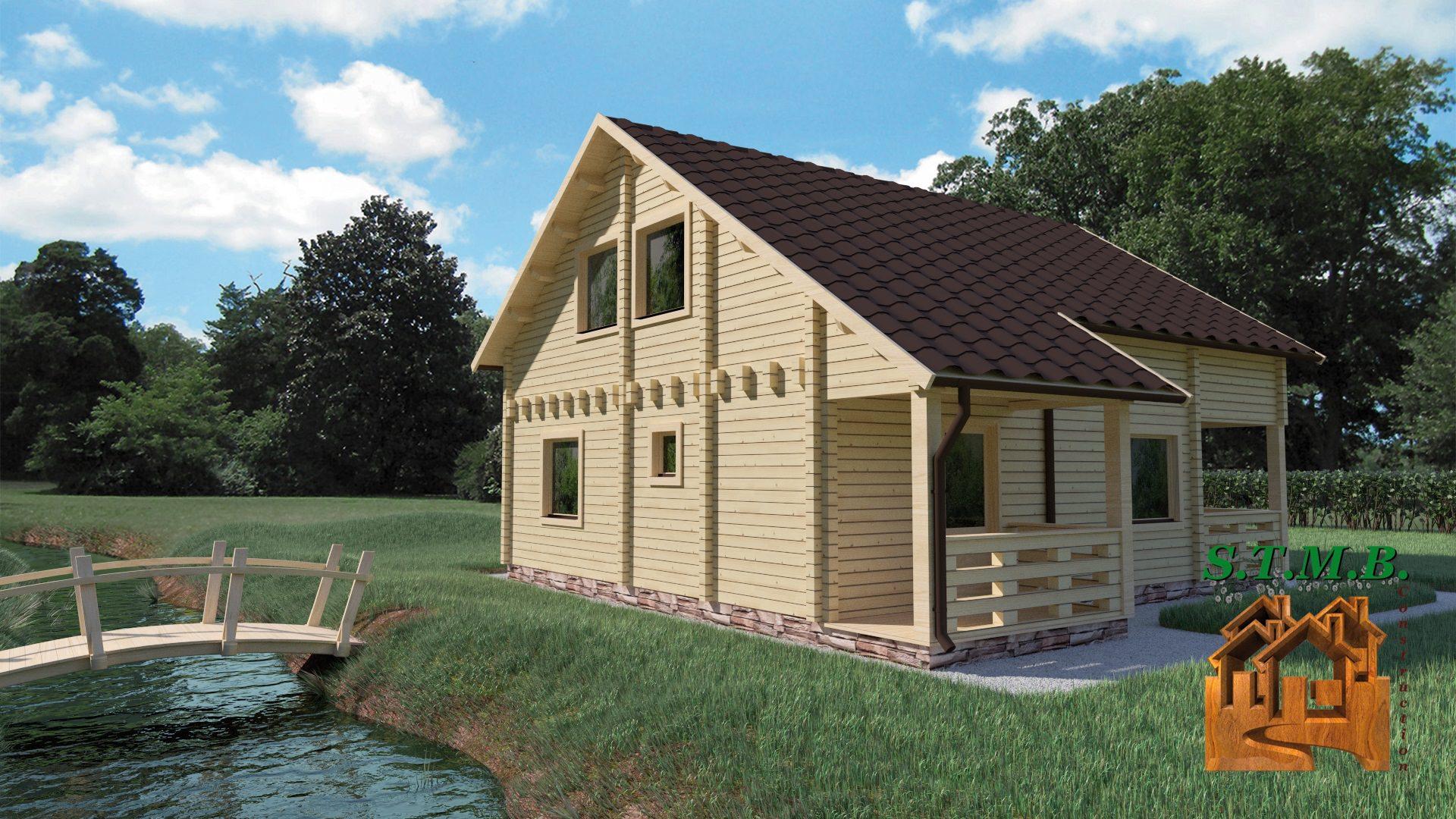 Une maison en kit pour un maximum de confort stmb construction for Maison en kit