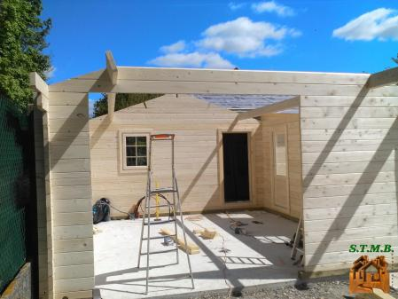 Photo 12 chalet en bois habitable garage stmb construction