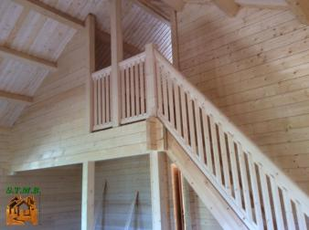 Photo 14 montage chalet en bois habitable versaille mezzanine stmb construction 1