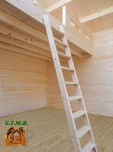 Photo 2 chalet en bois avec mezzanine pour quels escaliers opter stmb construction