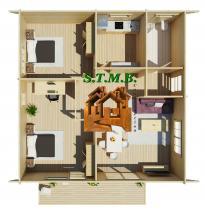 Photo 2 une maison en bois comme maison d ete stmb construction