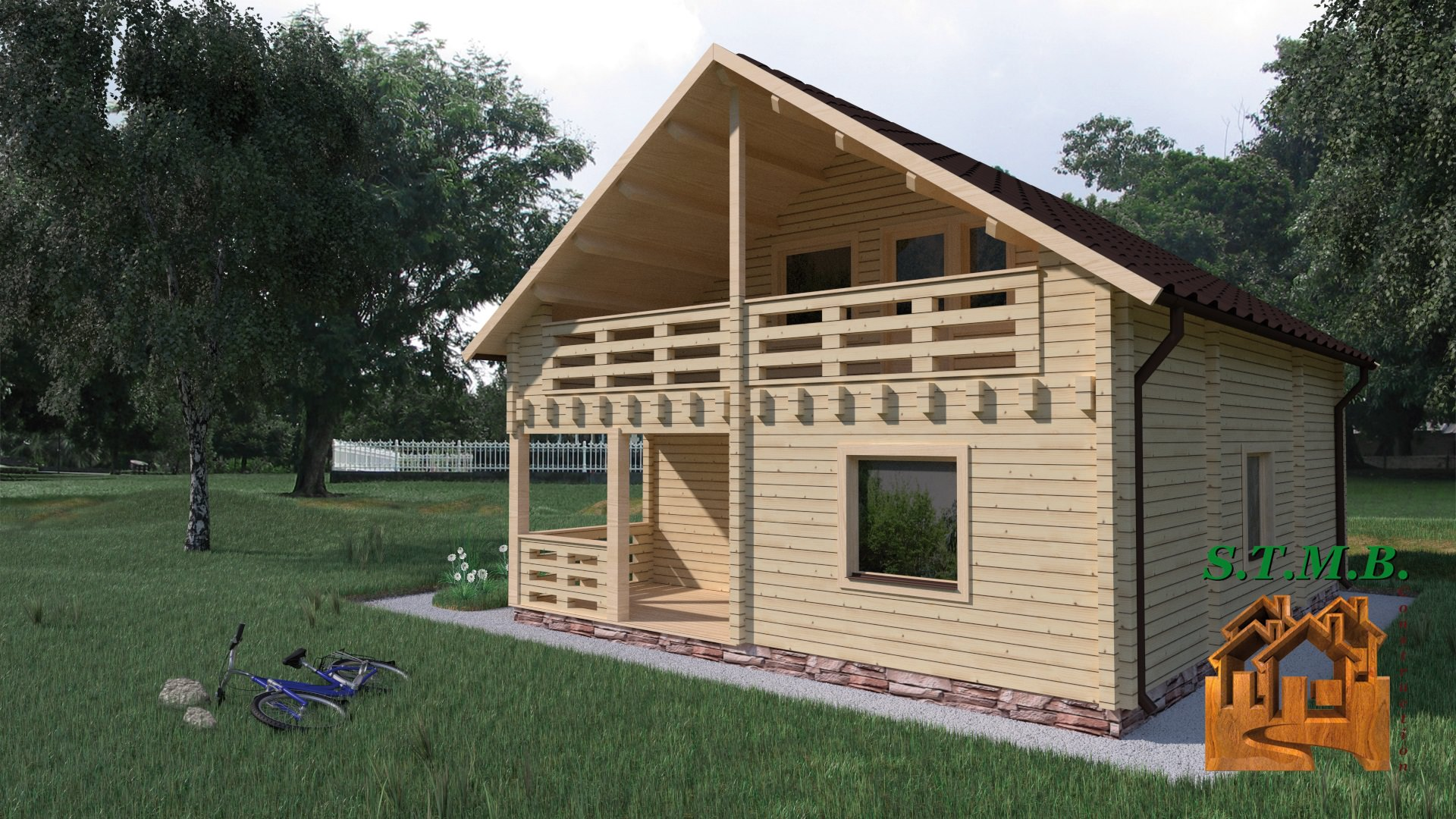 Une maison en kit pour un maximum de confort stmb for Construction maison rapide