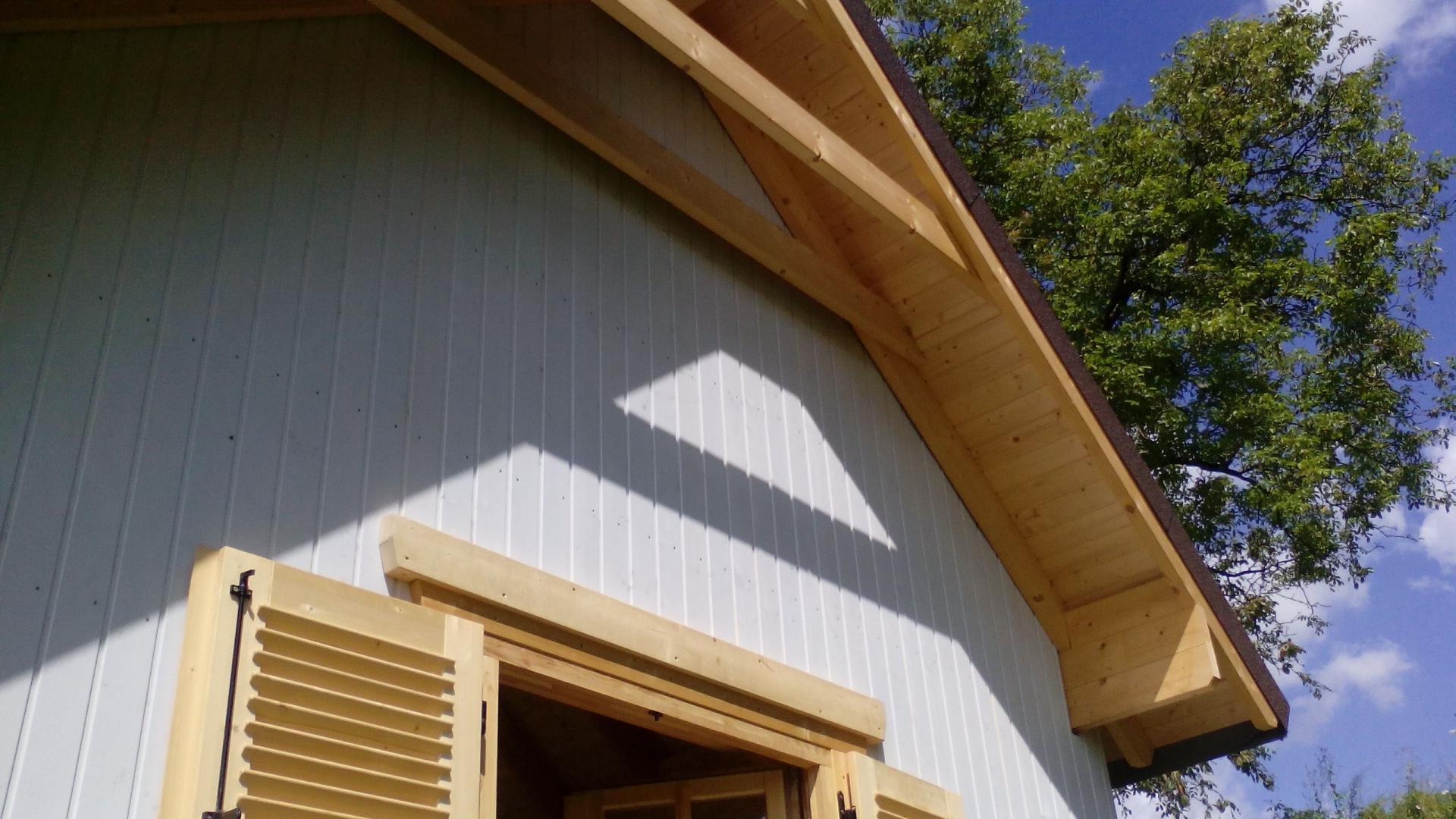 Montage chalet en bois mod le ch ne stmb construction for Construction bois 21