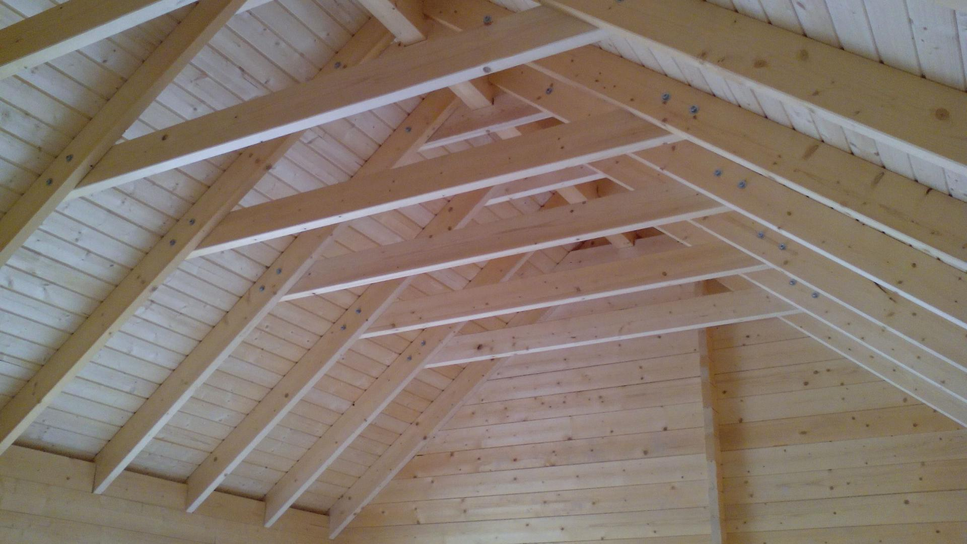Montage chalet en bois mod le ch ne stmb construction for Construction bois 22