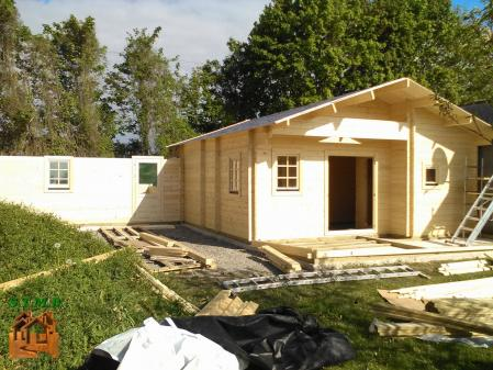 Photo 3 chalet en bois habitable garage stmb construction