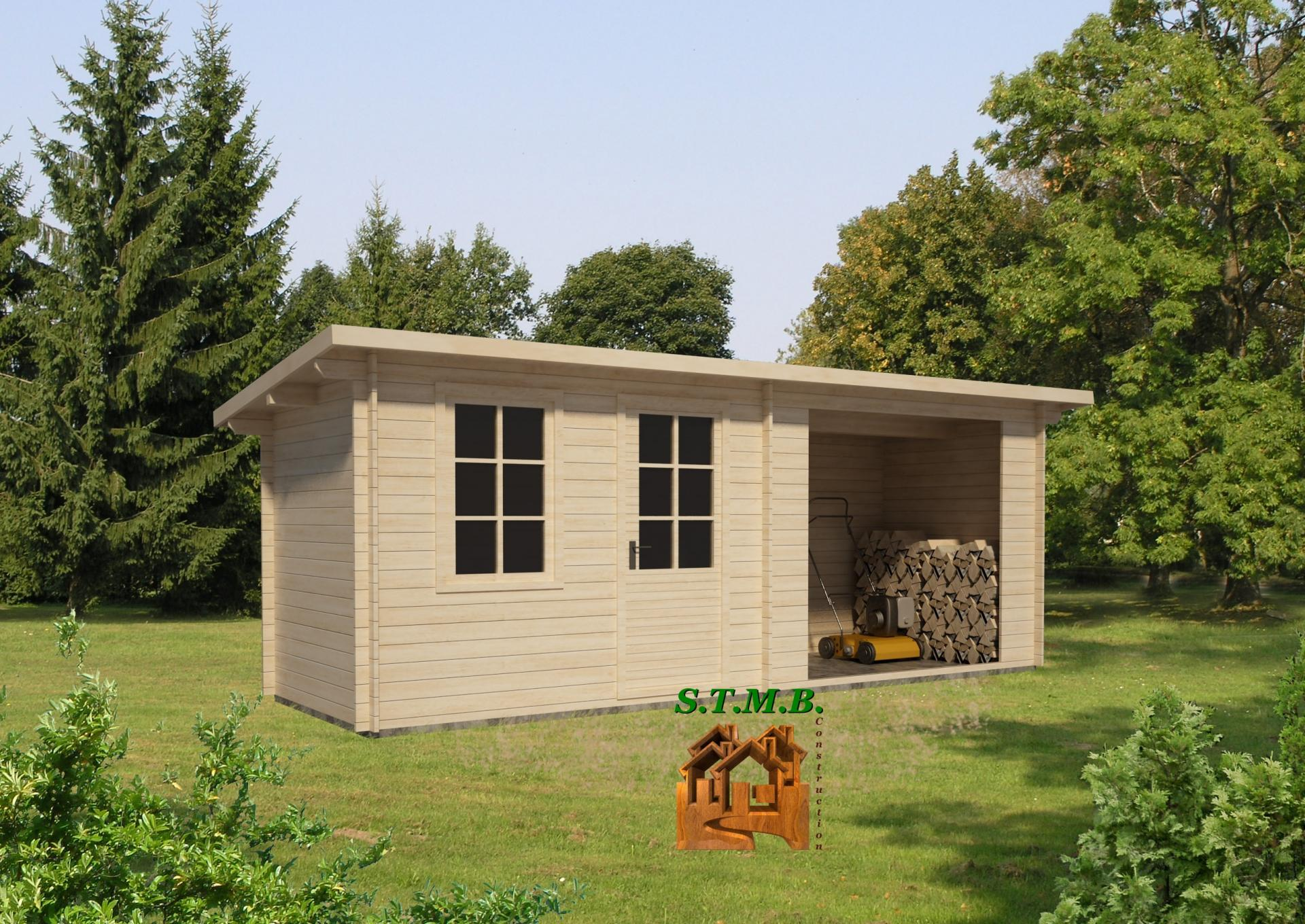 La cabane en bois Hier, Aujourd u2019hui& Demain # Cabane En Bois Construction