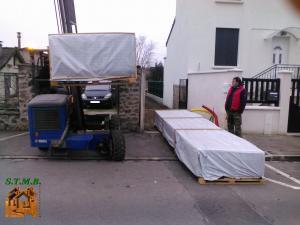 Photo 3 livraison chalet bois stmb construction