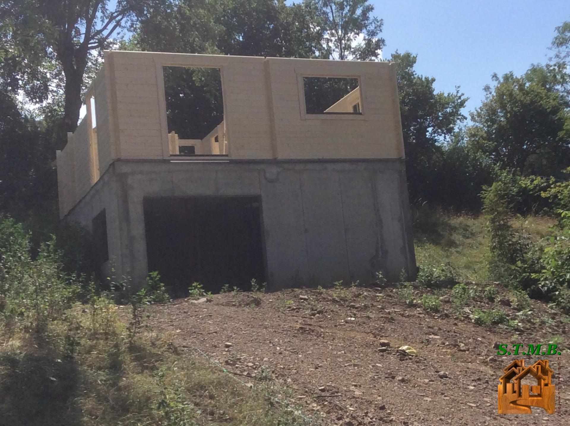 Chalet En Bois Habitable Corse. Good A Olmeto En Corse Du ...