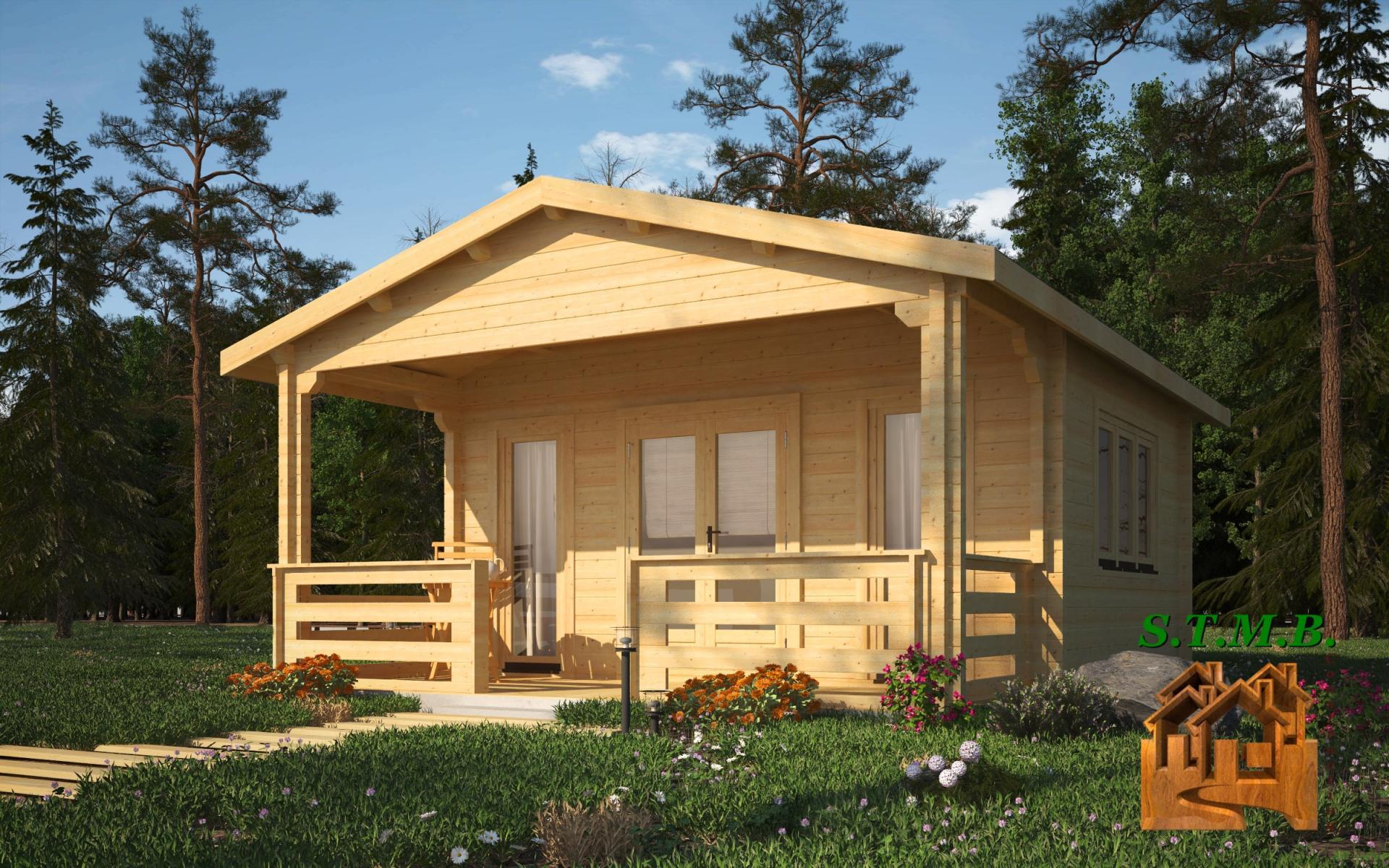 Vivre dans un chalet en bois stmb construction for Construction de chalet en bois
