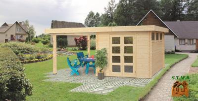 Photo 4 abri de jardin la structure qui s adapte a votre exterieur stmb construction