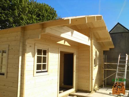 Photo 4 chalet en bois habitable garage stmb construction