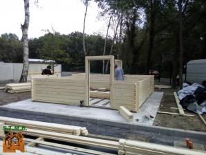 Photo 4 chalet en bois noisy 24 m2 stmb construction