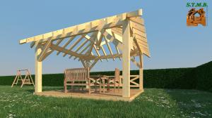 Photo 4 les principaux criteres de choix d une pergola bois stmb construction