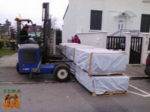 Photo 4 livraison chalet bois stmb construction