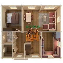 Photo 4 une maison en bois comme maison d ete stmb construction