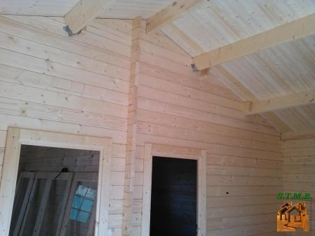 Photo 5 chalet en bois habitable garage stmb construction