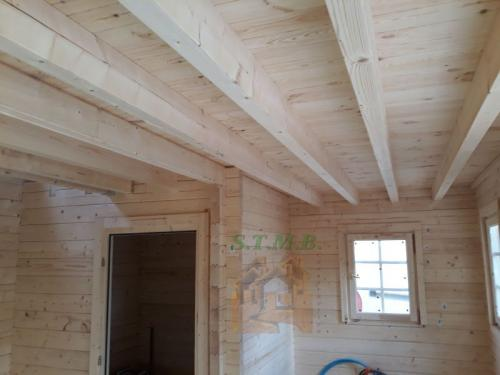 Photo 5 chalet en bois mezzanine laurier 20 msb
