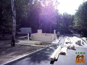 Photo 5 chalet en bois noisy 24 m2 stmb construction