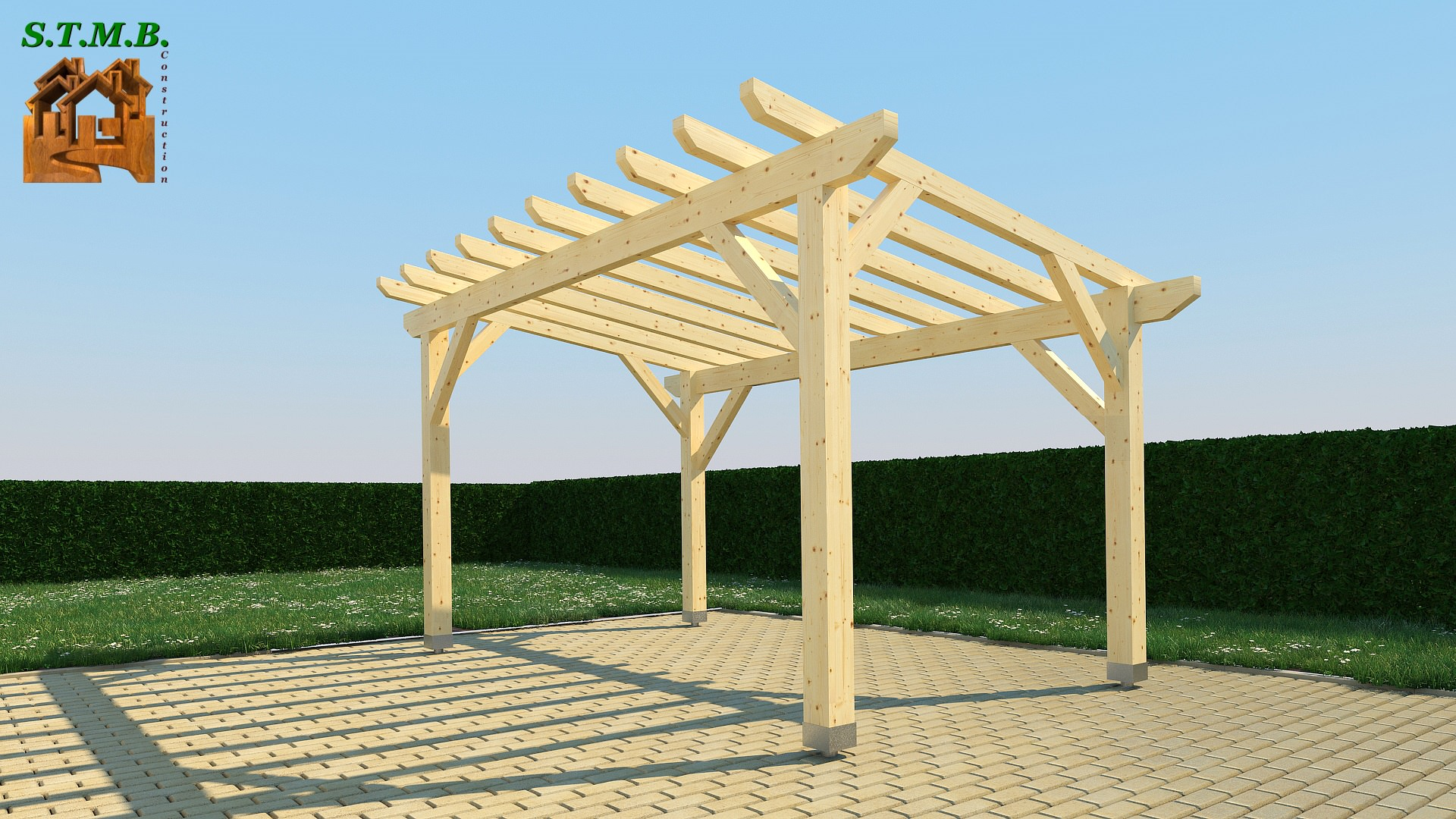 pergola en bois 4 crit res de choix. Black Bedroom Furniture Sets. Home Design Ideas