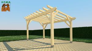 Photo 5 les principaux criteres de choix d une pergola bois stmb construction