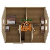 Photo 5 une maison en bois comme maison d ete stmb construction