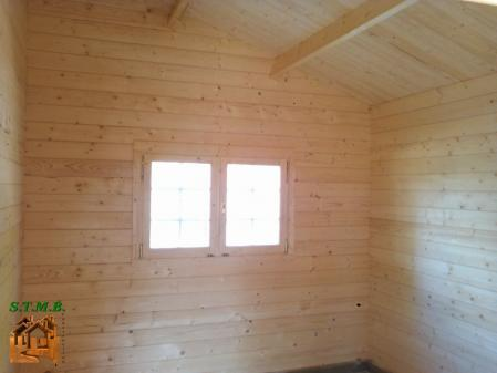 Photo 8 chalet en bois habitable garage stmb construction