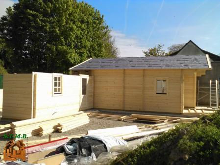 Photo 9 chalet en bois habitable garage stmb construction