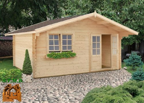 Photo chalet bois habitable tremble 22m2 stmb