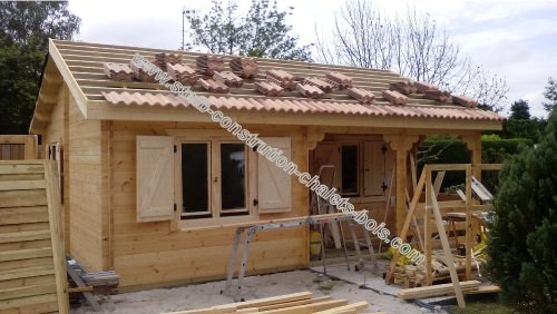 Chalet de loisir ou d 39 habitation bordeaux 42 m2 sans rt2012 for Prix construction m2 2015