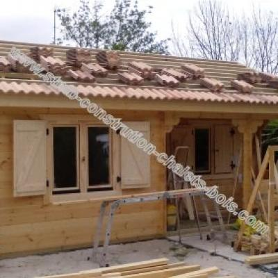 Photo chalet habitable bordeaux stmb