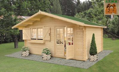 Photo kit chalet bois printemps 23 stmb construction